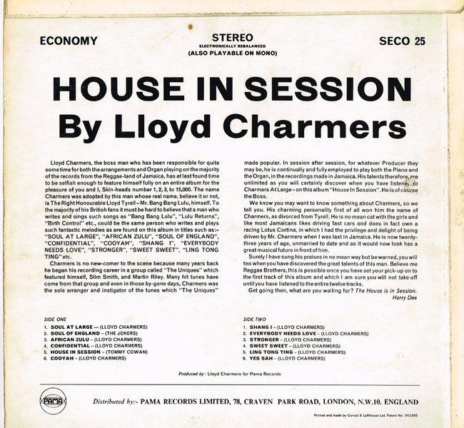 Lloyd Charmers - Cooyah