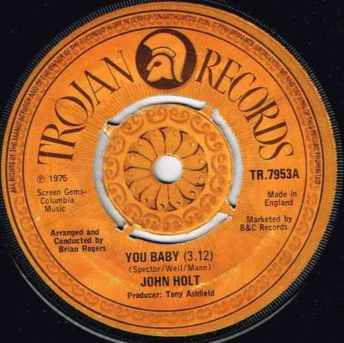 JOHN HOLT-you baby