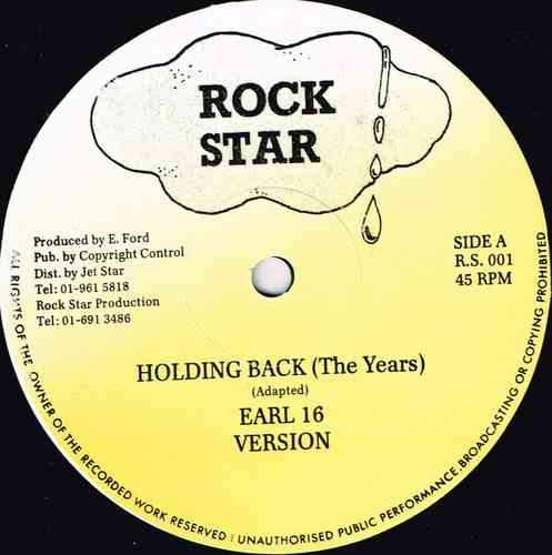 EARL 16-holding back the years
