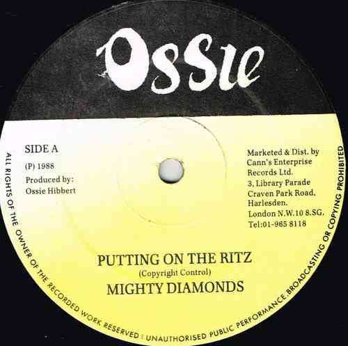 DIAMONDS-putting on the ritz