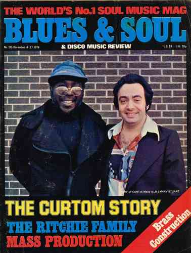 BLUES & SOUL no. 215