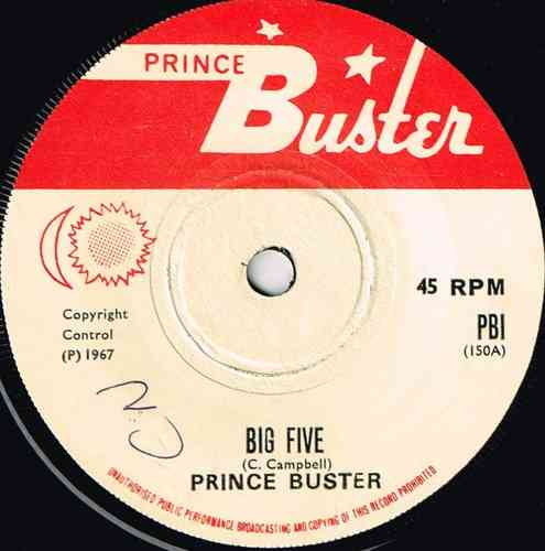 PRINCE BUSTER-big five