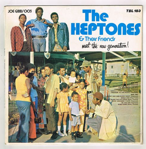 VARIOUS-the heptones & their friends meets the now generation!