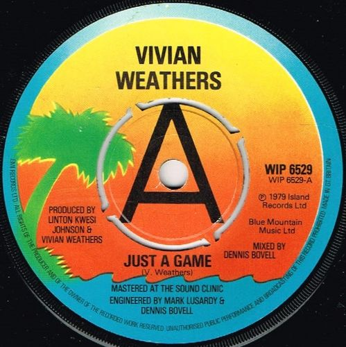 VIVIAN WEATHERS-just a game