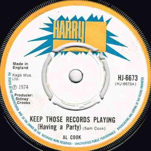 AL COOK-keep those records playing