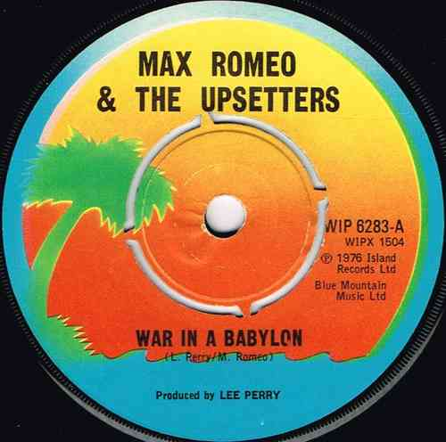 MAX ROMEO-war in a babylon