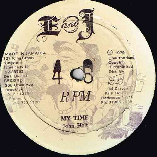 JOH HOLT-my time