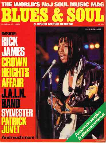 BLUES & SOUL no. 260