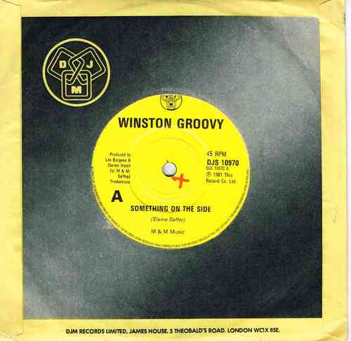 WINSTON GROOVY-something on the side