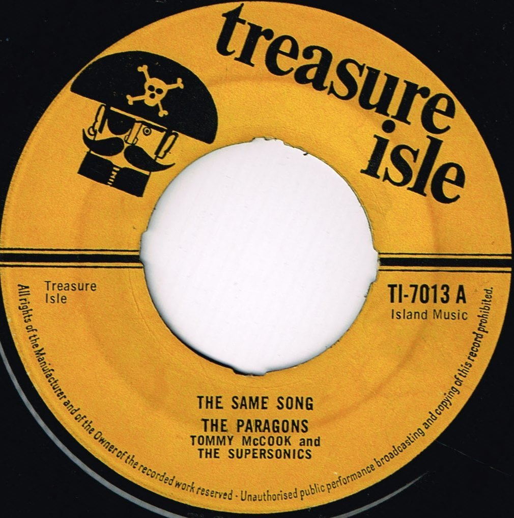 Paragons The Same Song Shm Records