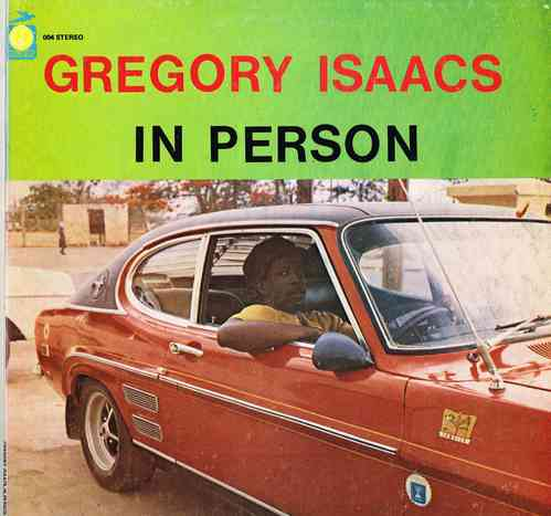 GREGORY ISAACS-in person