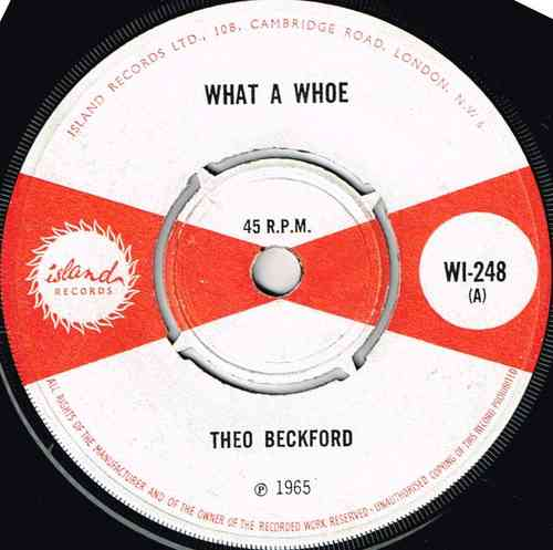 THEO BECKFORD-what a whoe