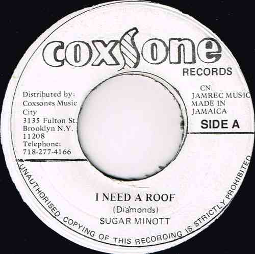 SUGAR MINIOTT-i need a roof