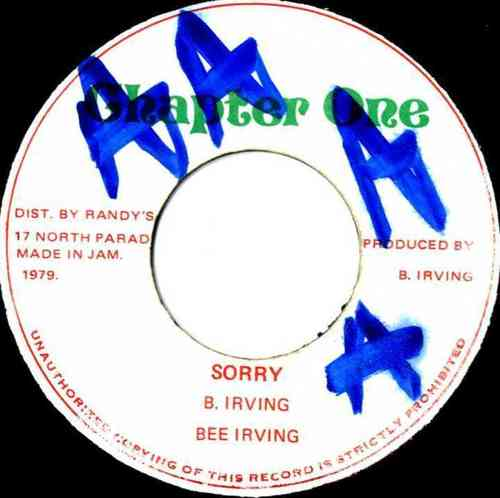 BEE IRVING-sorry