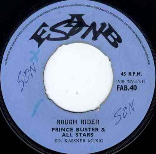 PRINCE BUSTER-rough rider
