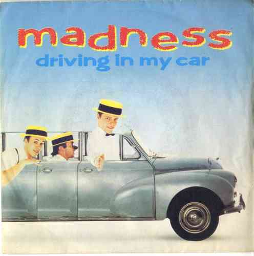 MADNESS-driving in my car