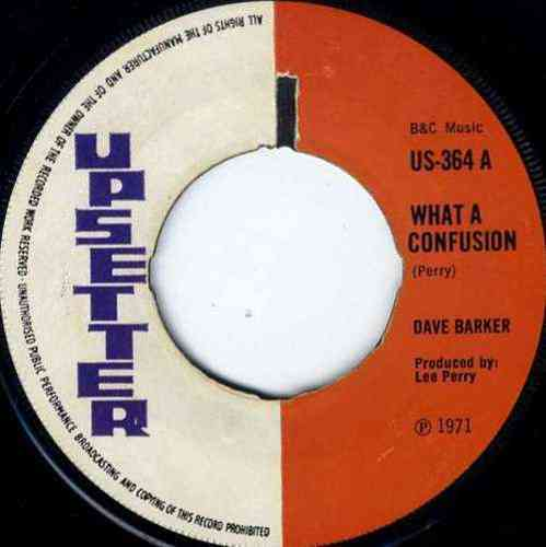 DAVE BARKER-what a confusion