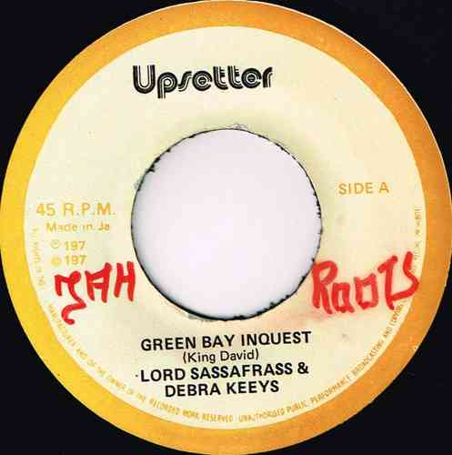 LORD SASSAFRASS & DEBRA KEEYS-green bay inquest