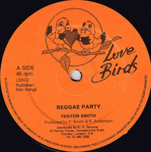 FENTON SMITH-reggae party