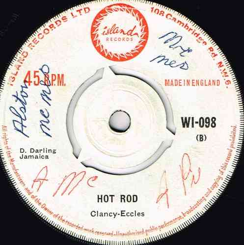 ROLAND ALPHONSO-hot rod