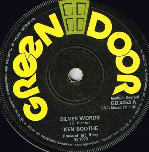 KEN BOOTHE-silver words