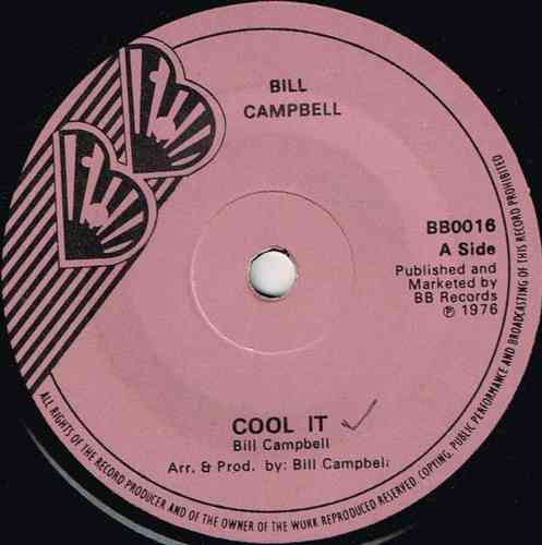 BILL CAMPBELL-cool it