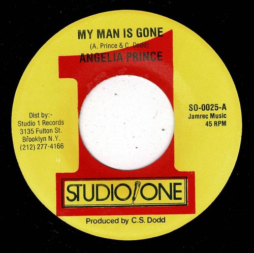 ANGELIA PRINCE-my man is gone