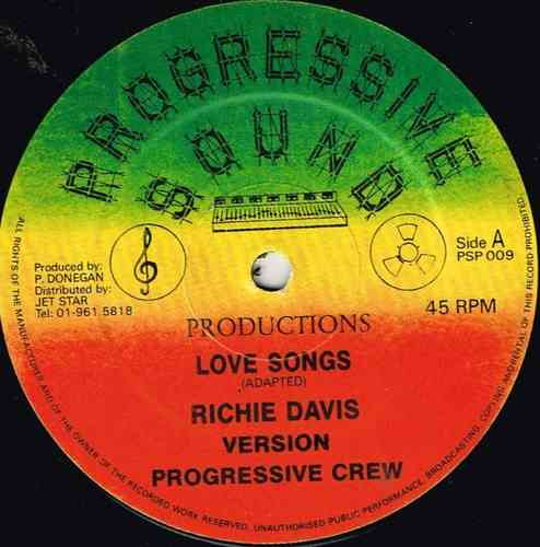 RICHIE DAVIS-love songs