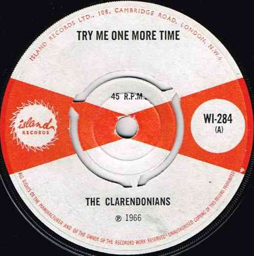 CLARENDONIANS-try me one more time