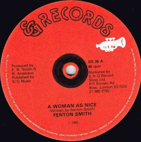 FENTON SMITH-a woman as nice