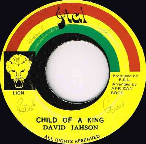 DAVID JAHSON-child of a king