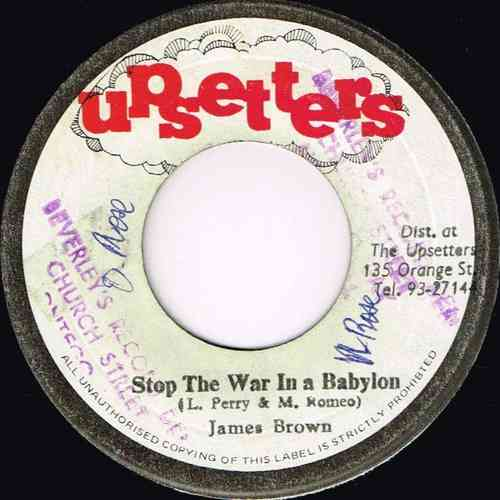 JAMES BROWN-stop the war in a babylon