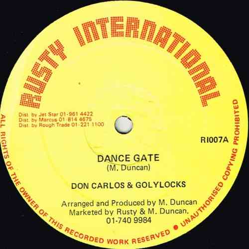 DON CARLOS & GOLYLOCKS-dance gate