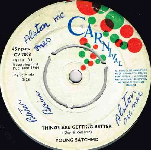 YOUNG SATCHMO-things are getting better