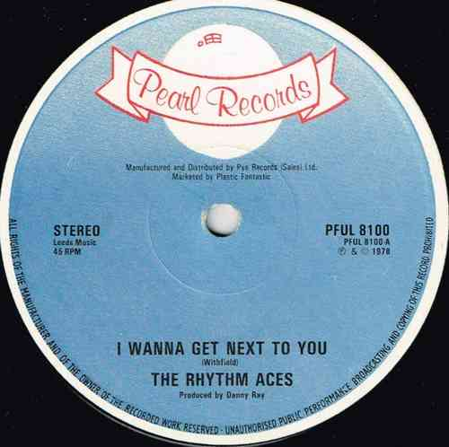 RHYTHM ACES-i wanna get next to you