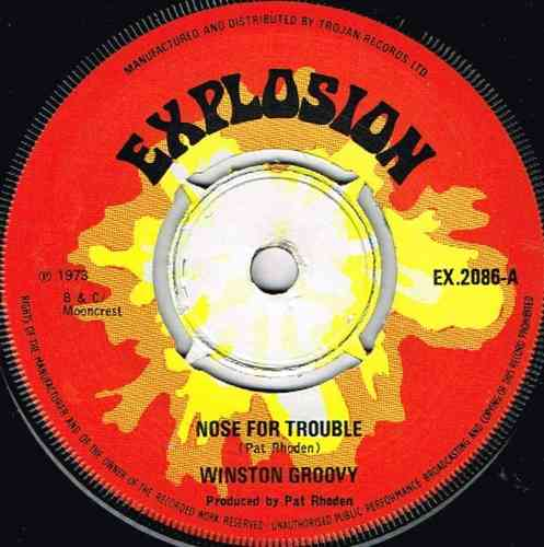 WINSTON GROOVY-nose for trouble