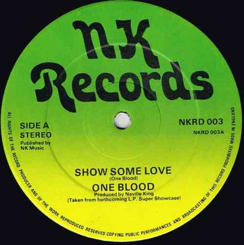 ONE BLOOD-show some love