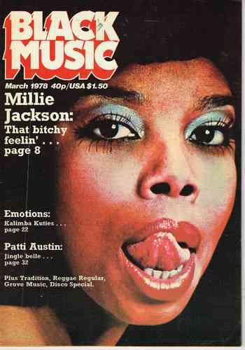 BLACK MUSIC march 1978