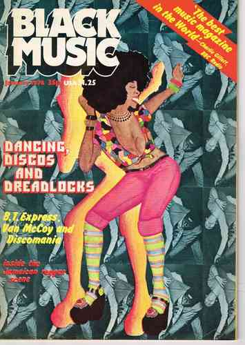 BLACK MUSIC january 1976