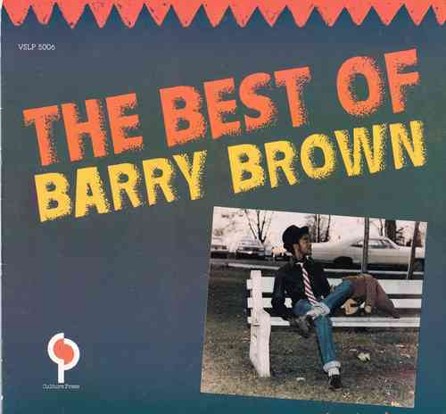 BARRY BROWN-the best of barry brown