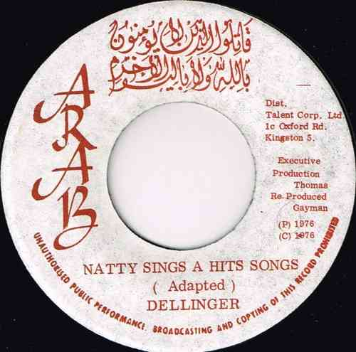 DILLINGER-natty sings a hit song