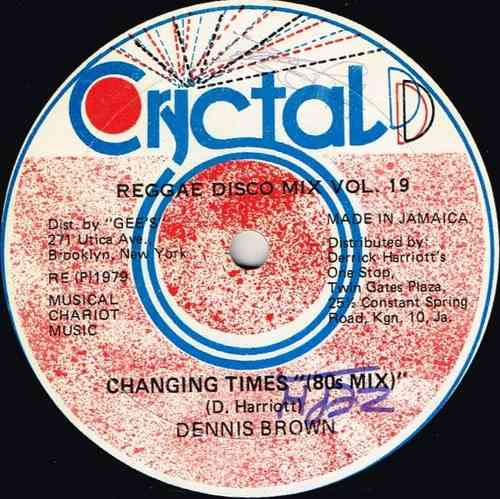DENNIS BROWN-changing times