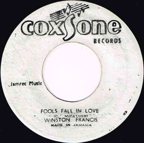 WINSTON FRANCIS-fools fall in love