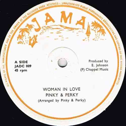 PINKY & PERKY-woman in love