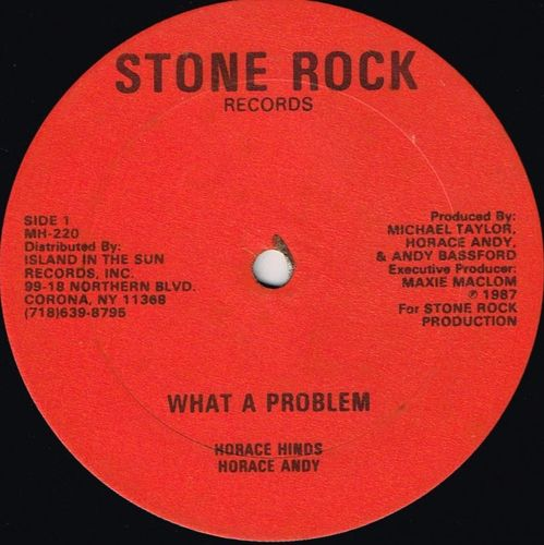 HORACE ANDY-what a problem