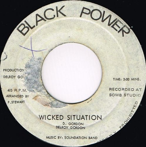 DELROY GORDON-wicked situation