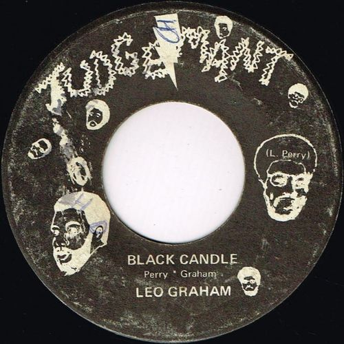 LEO GRAHAM-black candle
