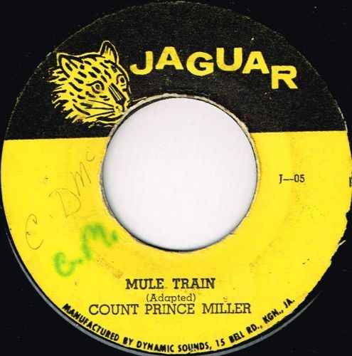 COUNT PRINCE MILLER-mule train