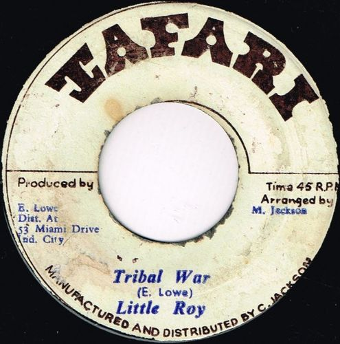 LITTLE ROY-tribal war