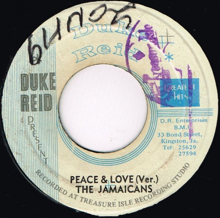 Jamaicans Peace And Love